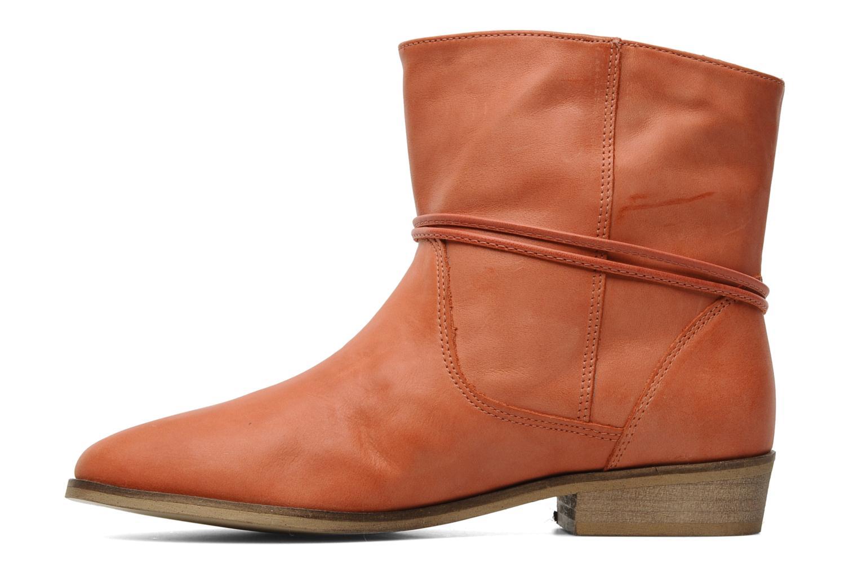 Boots en enkellaarsjes Georgia Rose Gioris Oranje voorkant