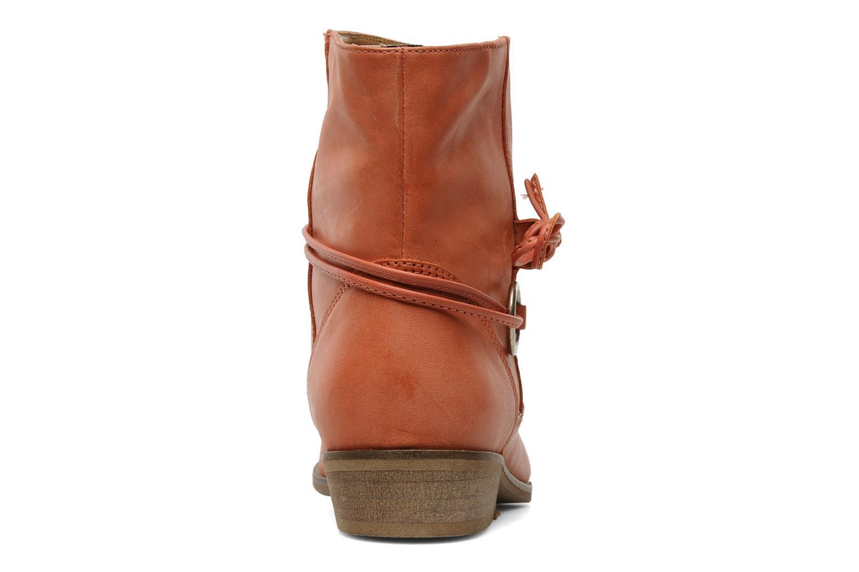 Boots en enkellaarsjes Georgia Rose Gioris Oranje rechts