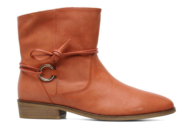 Boots en enkellaarsjes Georgia Rose Gioris Oranje achterkant