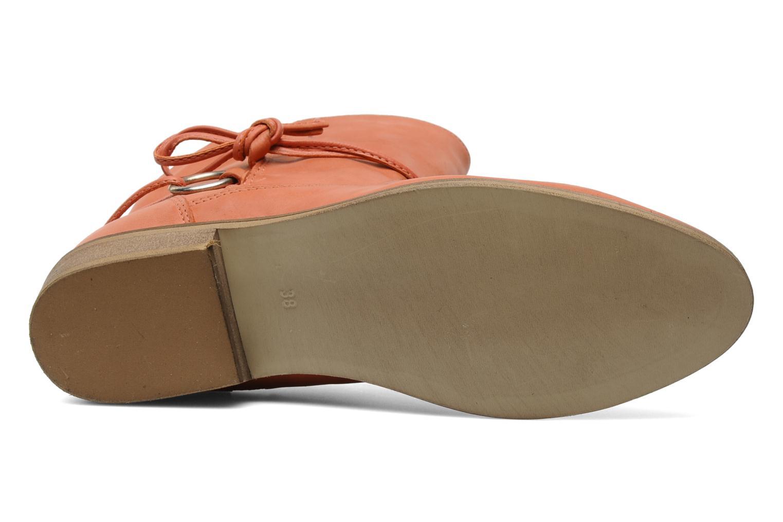 Stiefeletten & Boots Georgia Rose Gioris orange ansicht von oben