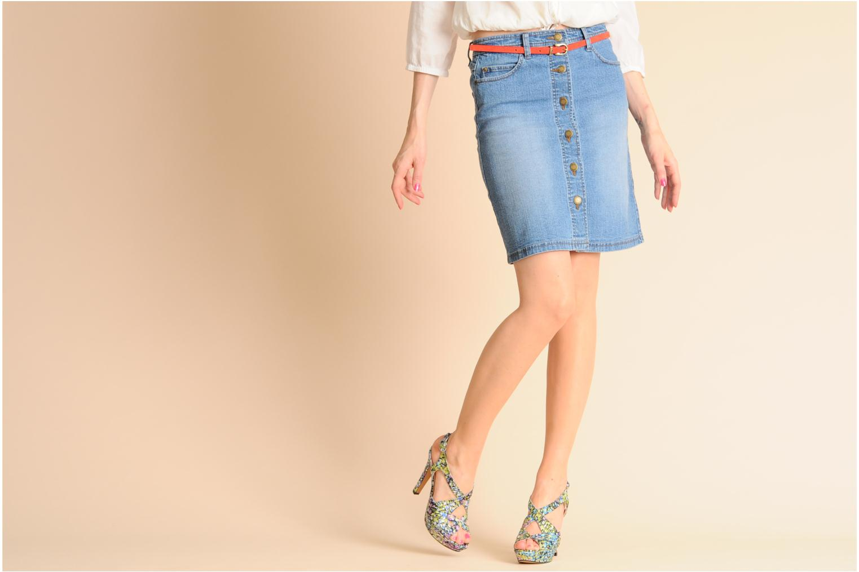 Sandalen Georgia Rose Christie mehrfarbig ansicht von unten / tasche getragen