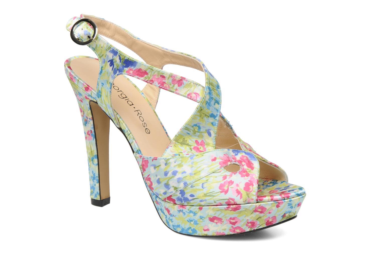 Sandales et nu-pieds Georgia Rose Christie Multicolore vue détail/paire