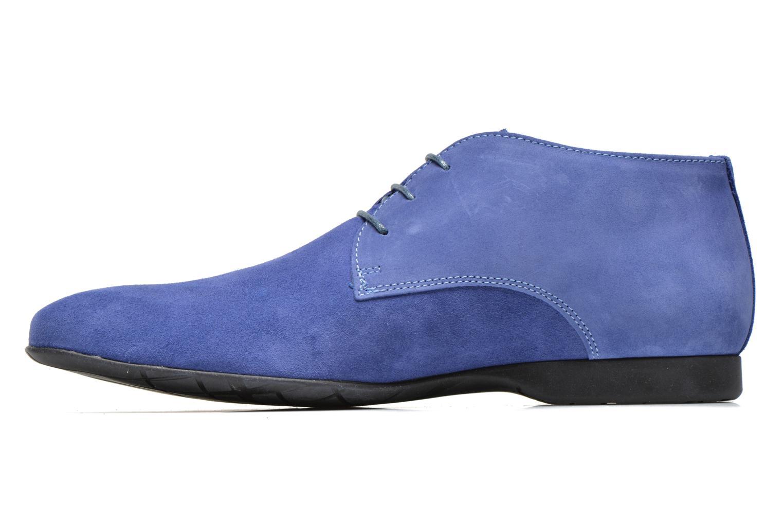 Zapatos con cordones Marvin&Co Nathanael Azul vista de frente