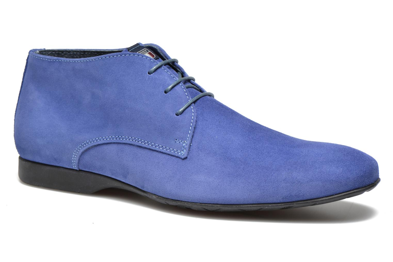 Zapatos con cordones Marvin&Co Nathanael Azul vista de detalle / par