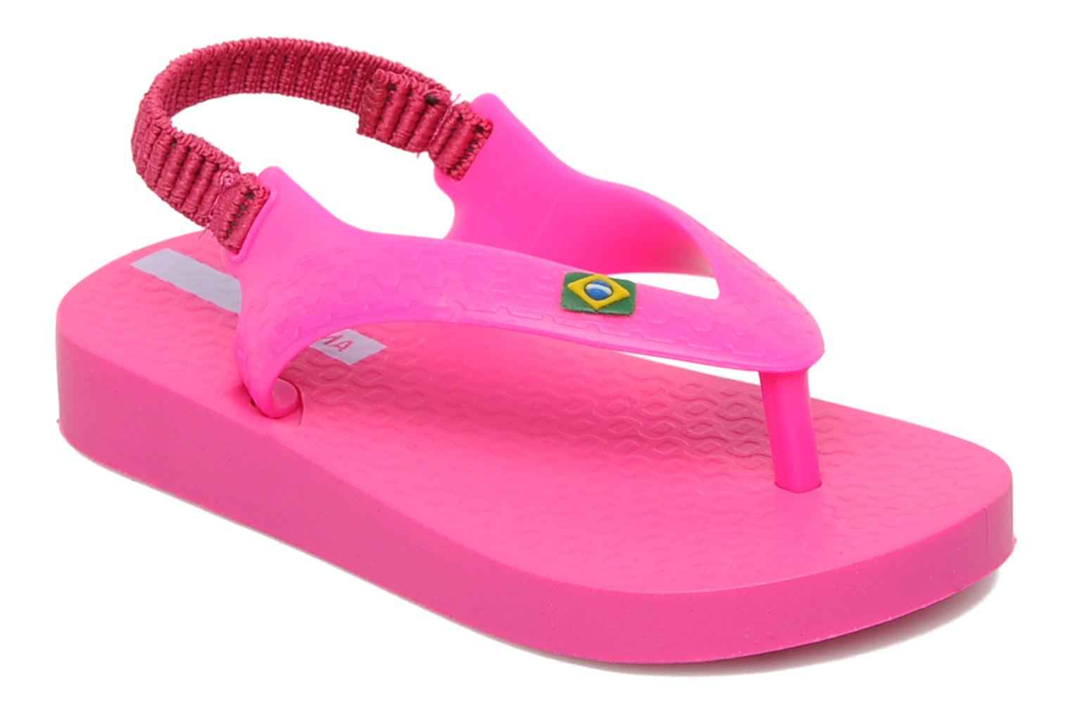 Tongs Ipanema Classic Brasil Baby Rose vue détail/paire