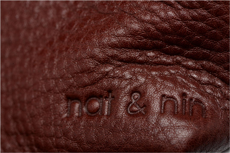 Petite Maroquinerie Nat & Nin Bibi Violet vue gauche