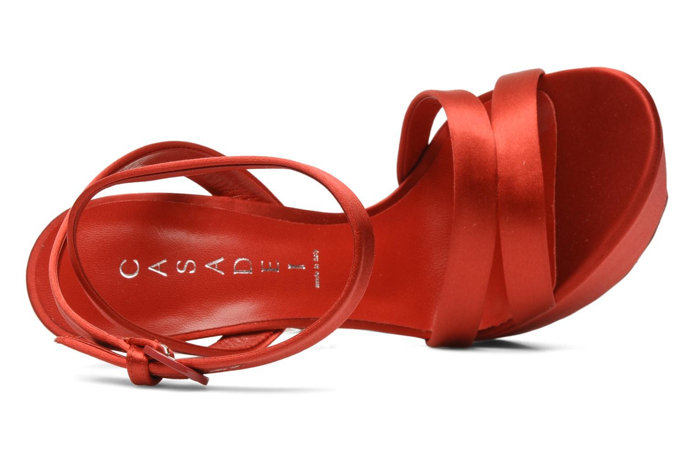 Sandales et nu-pieds Casadei Gioconda Rouge vue gauche