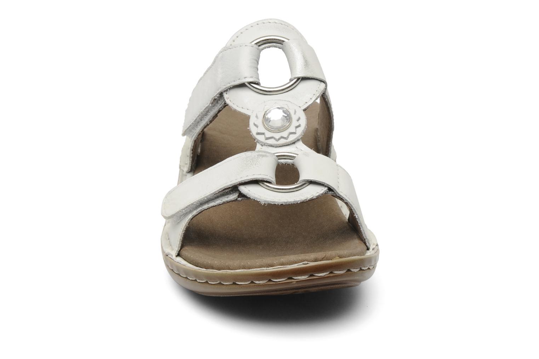 Mules et sabots Ara Hawai Argent vue portées chaussures