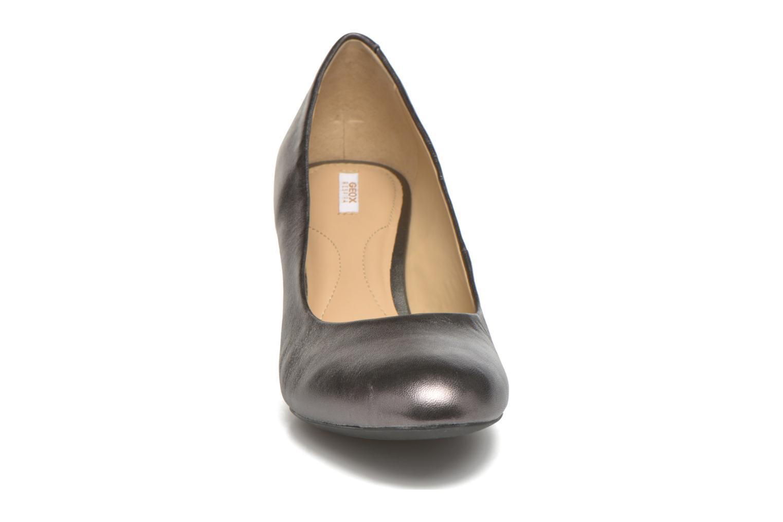 Escarpins Geox D MARIELE MID B D32T7B Or et bronze vue portées chaussures