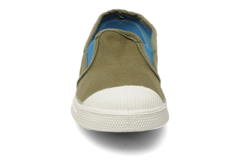 Baskets Bensimon Tennis Tommy F Vert vue portées chaussures