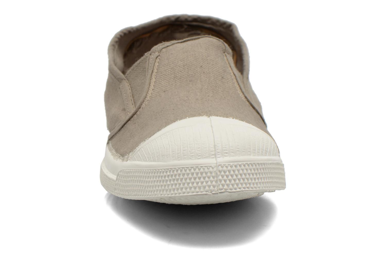Baskets Bensimon Tennis Tommy F Marron vue portées chaussures