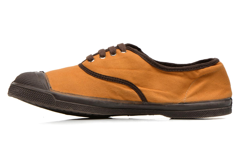 Sneakers Bensimon Tennis Colorpiping Arancione immagine frontale