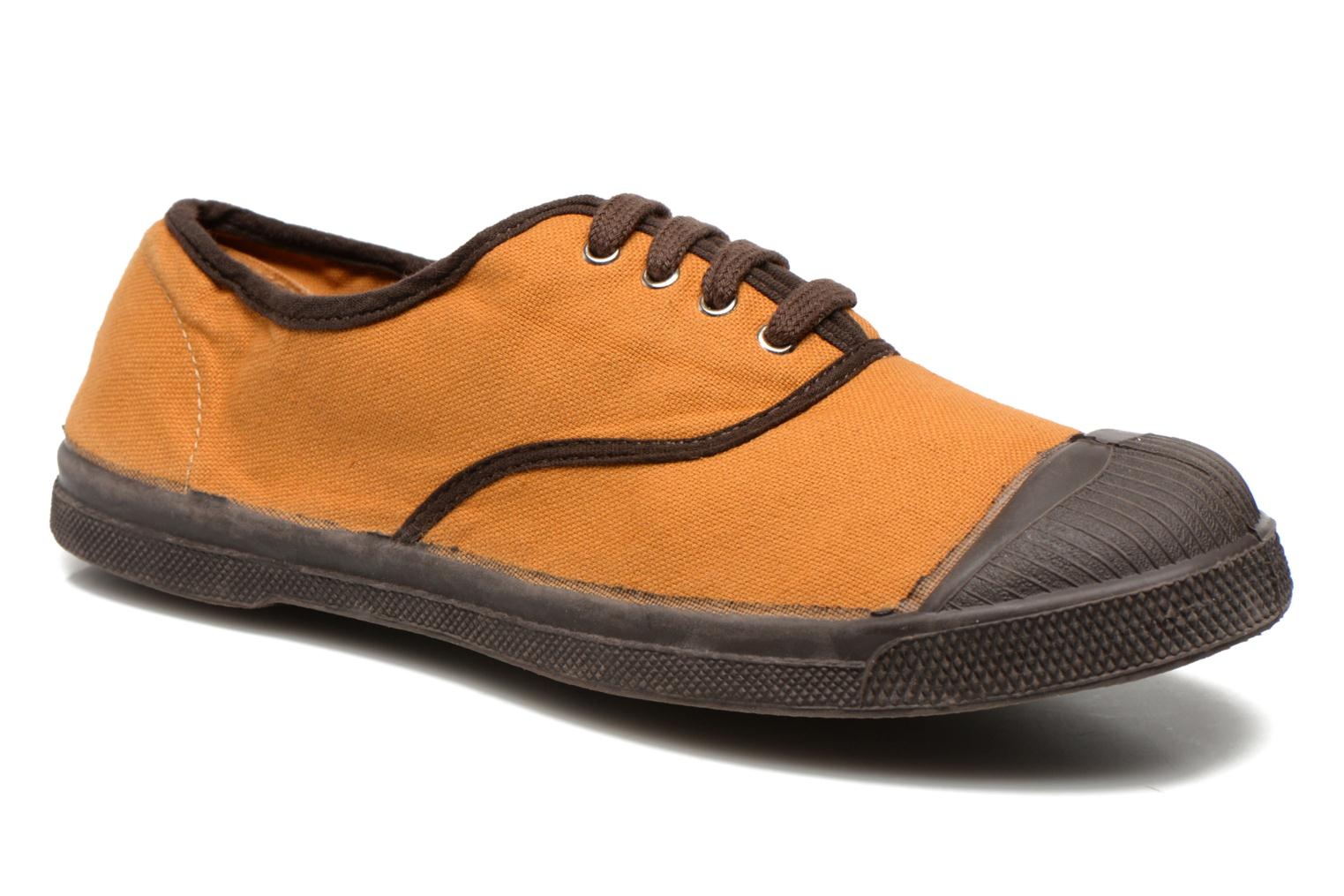 Sneaker Bensimon Tennis Colorpiping orange detaillierte ansicht/modell
