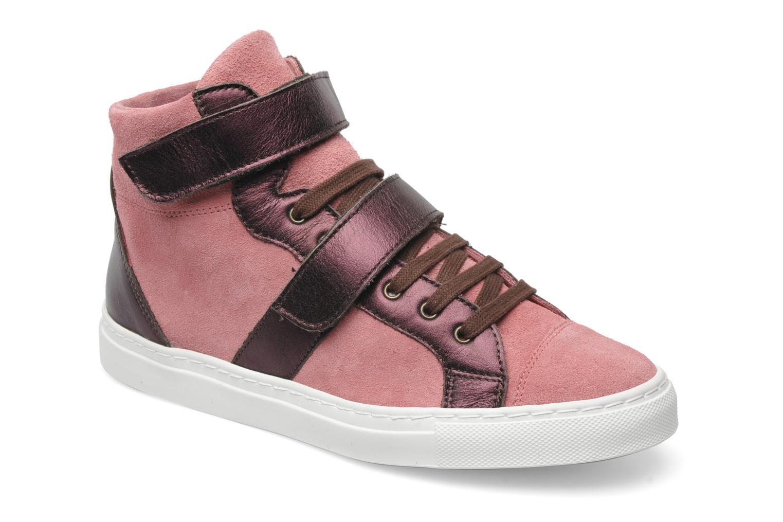 Sneaker Bensimon Sneakys Suède/Cuir F rosa detaillierte ansicht/modell