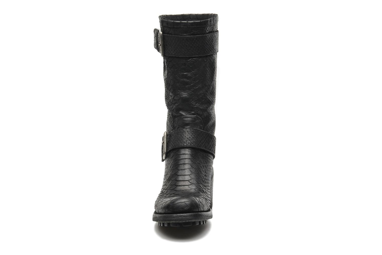 Bottines et boots Free Lance Biker 7 Mid Strap Noir vue portées chaussures