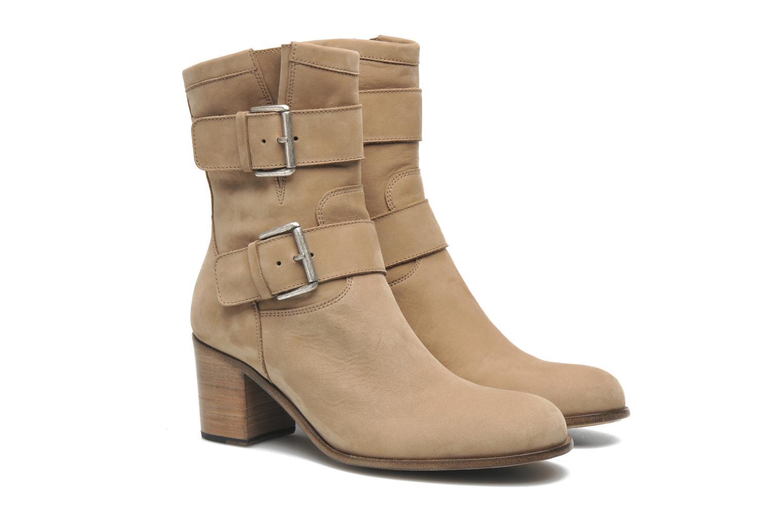 Stiefeletten & Boots Free Lance Azev 7 mini strap braun 3 von 4 ansichten