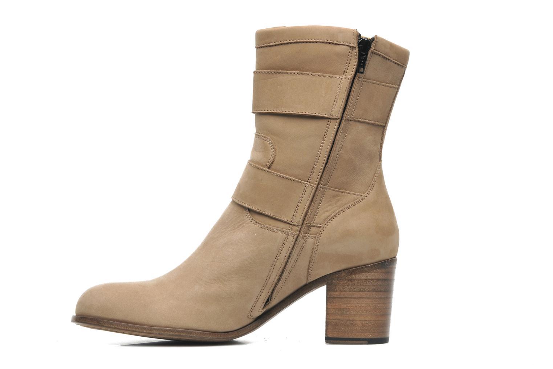 Stiefeletten & Boots Free Lance Azev 7 mini strap braun ansicht von vorne