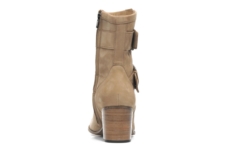 Stiefeletten & Boots Free Lance Azev 7 mini strap braun ansicht von rechts