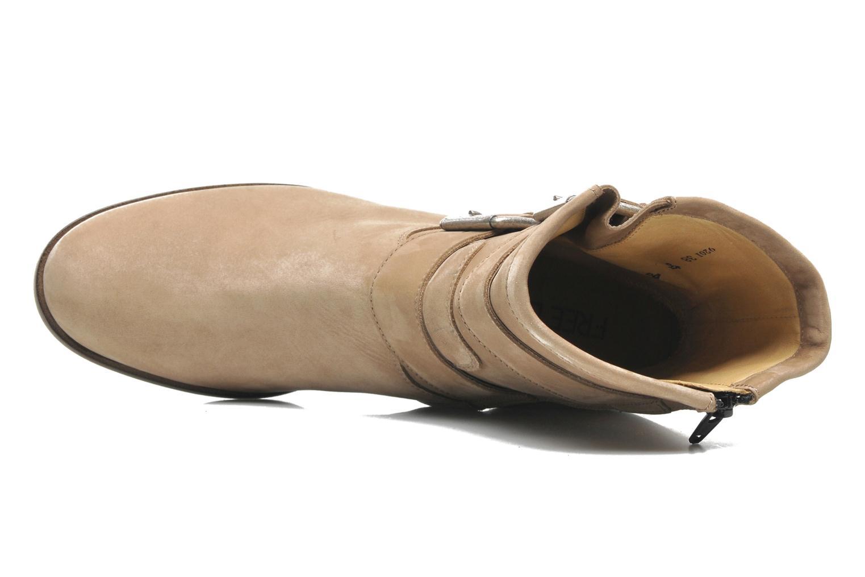 Stiefeletten & Boots Free Lance Azev 7 mini strap braun ansicht von links