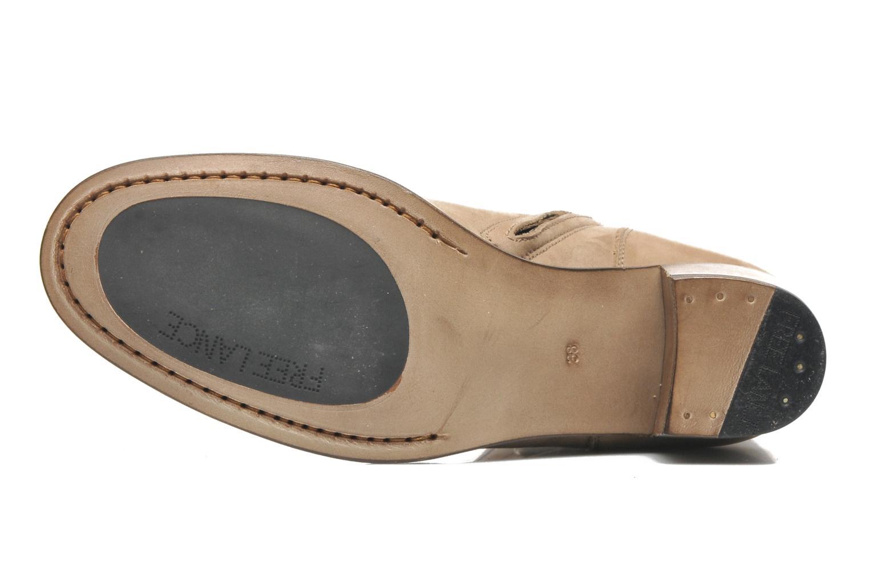 Bottines et boots Free Lance Azev 7 mini strap Marron vue haut