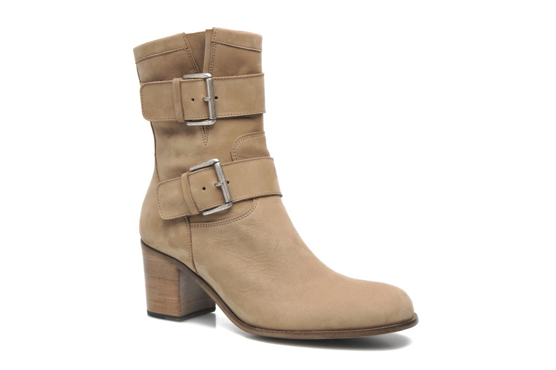 Bottines et boots Free Lance Azev 7 mini strap Marron vue détail/paire