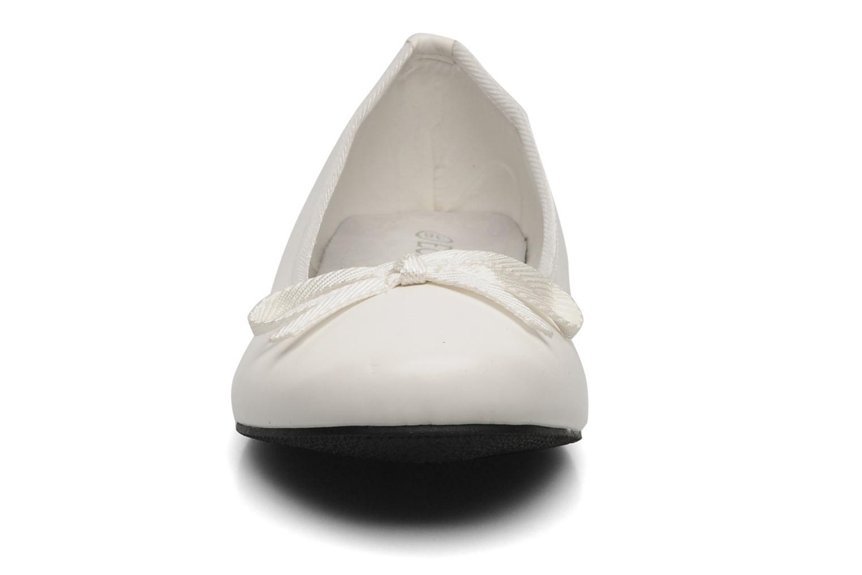 Ballerines Eclipse Ballerine Classique Blanc vue portées chaussures