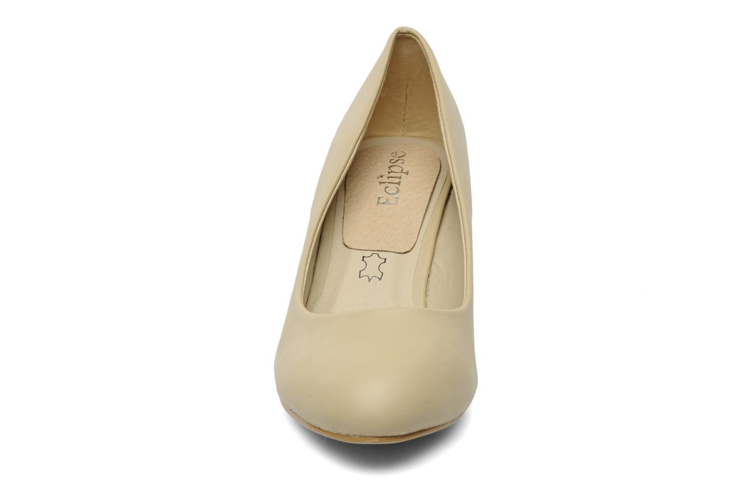 Pumps Eclipse Escarpin Moyen Talon Beige model