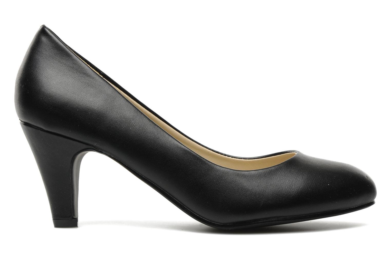 Zapatos de tacón Eclipse Escarpin Moyen Talon Negro vistra trasera