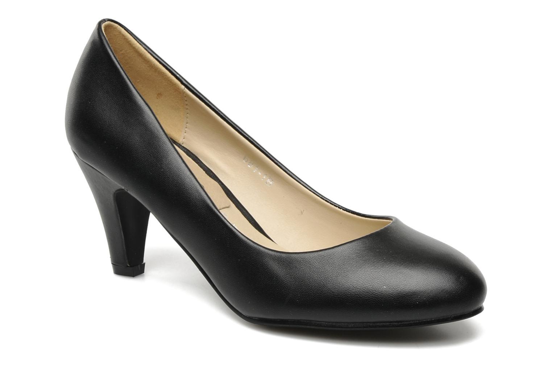Zapatos de tacón Eclipse Escarpin Moyen Talon Negro vista de detalle / par