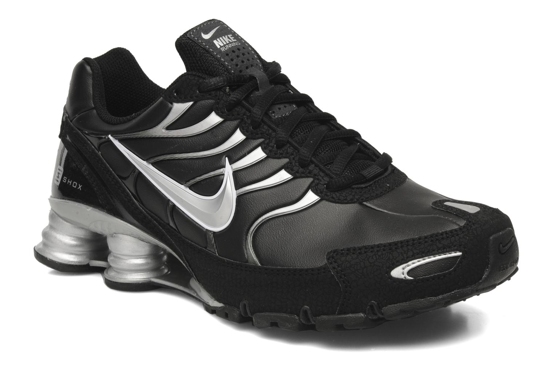 ... mens running shoes black anthracite gamma green nike shox turbo 6  Trainers Nike Nike Shox Turbo Vi Sl Black detailed view Pair view . ... 04d1ed843