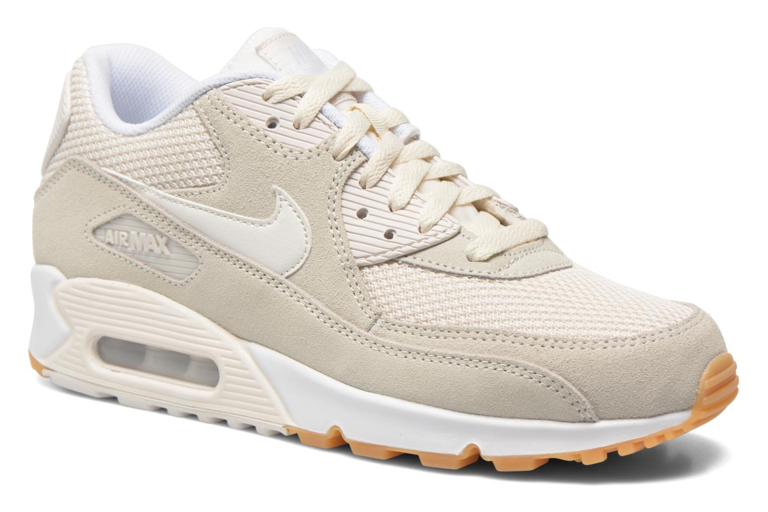 Baskets Nike Nike Air Max 90 Essential Beige vue détail/paire