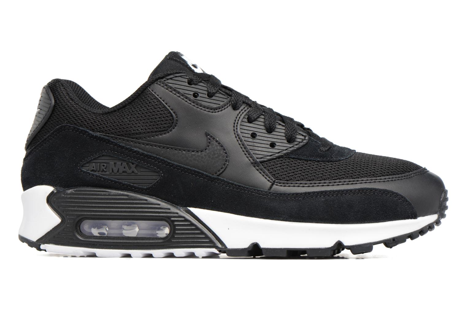 Trainers Nike Nike Air Max 90 Essential Black back view