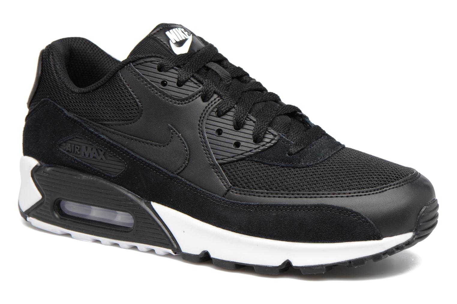 Trainers Nike Nike Air Max 90 Essential Black detailed view/ Pair view