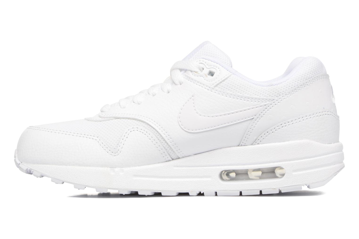 Baskets Nike Wmns Air Max 1 Prm Blanc vue face