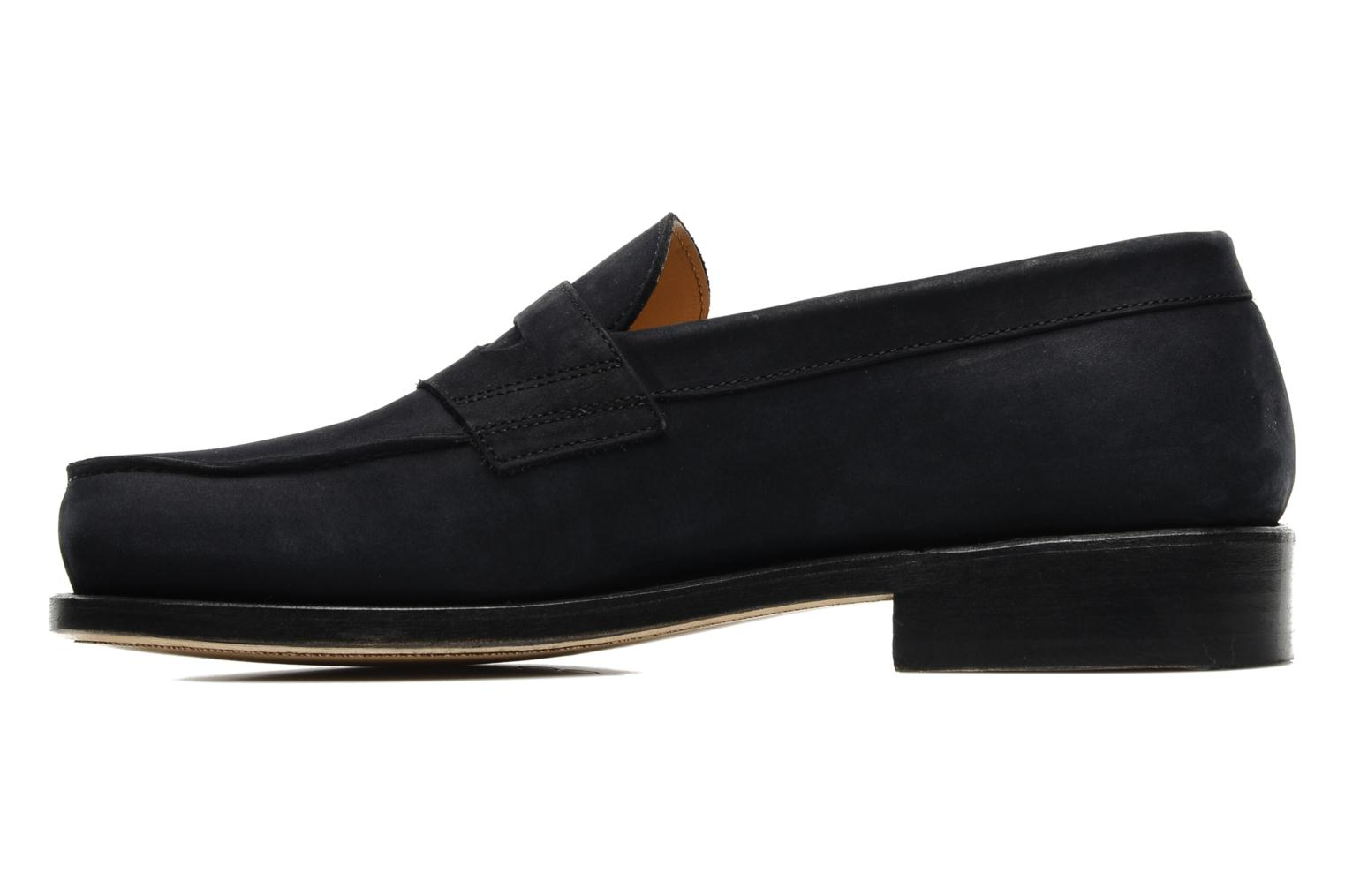 Mocassins Marvin&Co Armand Bleu vue face