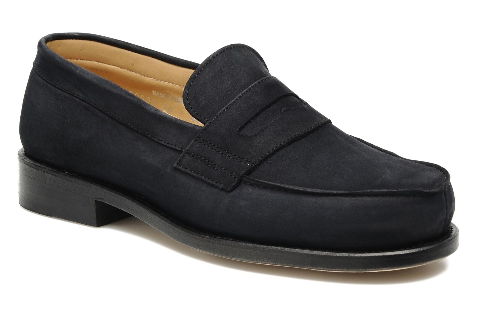 Mocassins Marvin&Co Armand Blauw detail