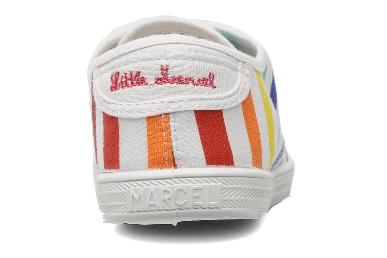 Baskets Little Marcel Benilace Multi Multicolore vue droite