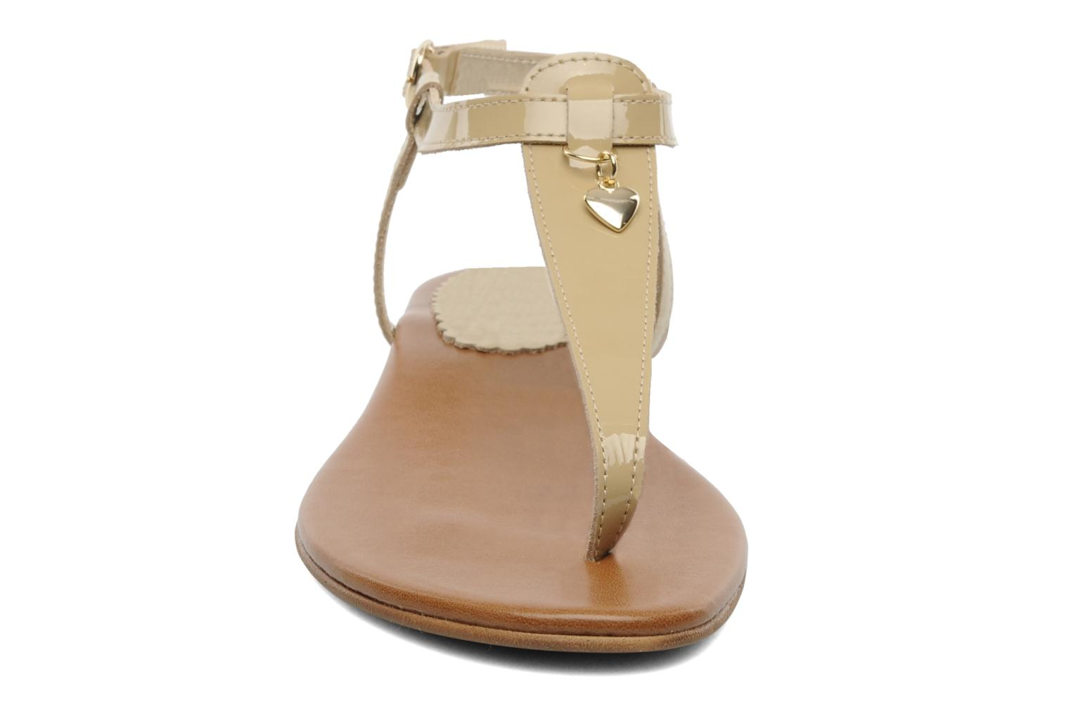 Sandalen Georgia Rose Cassis Beige model