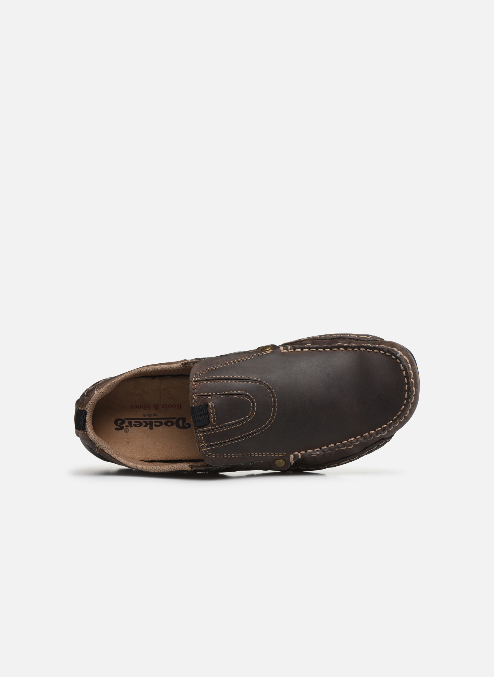 Loafers Dockers Etienne Brown view from the left