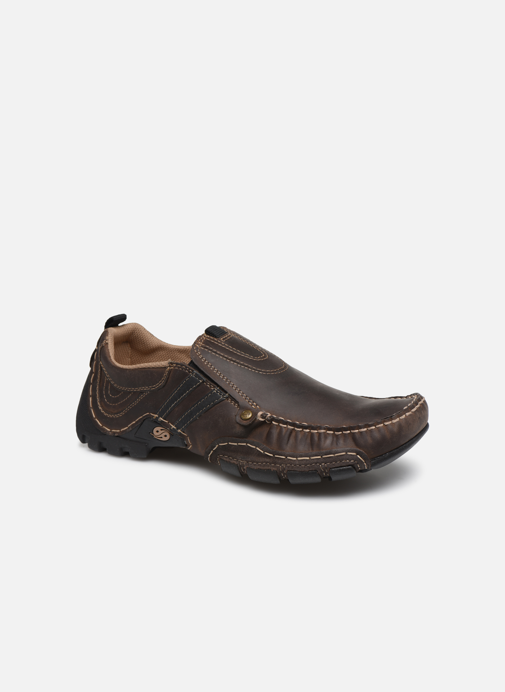Loafers Dockers Etienne Brown detailed view/ Pair view