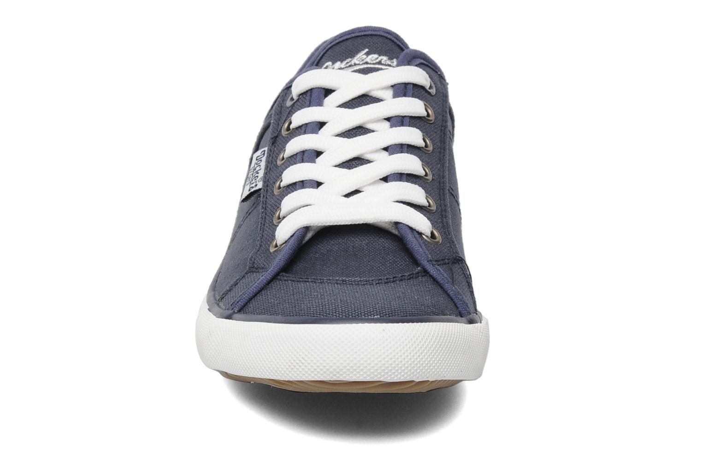 Baskets Dockers Anne Bleu vue portées chaussures
