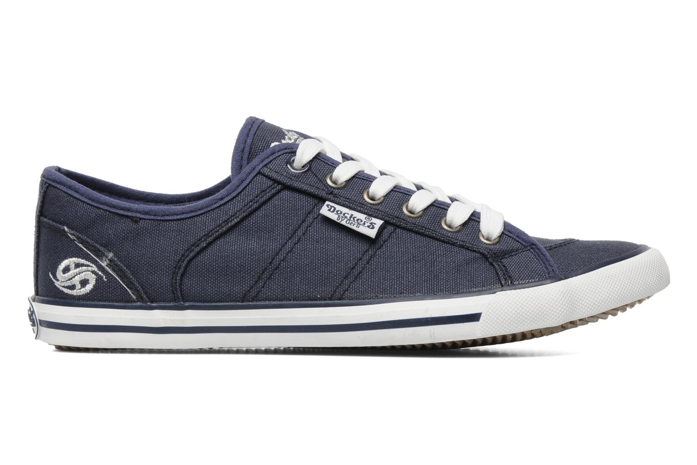 Sneaker Dockers Anne blau ansicht von hinten