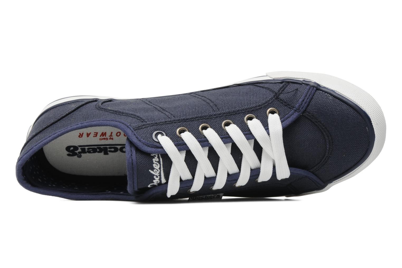 Sneaker Dockers Anne blau ansicht von links