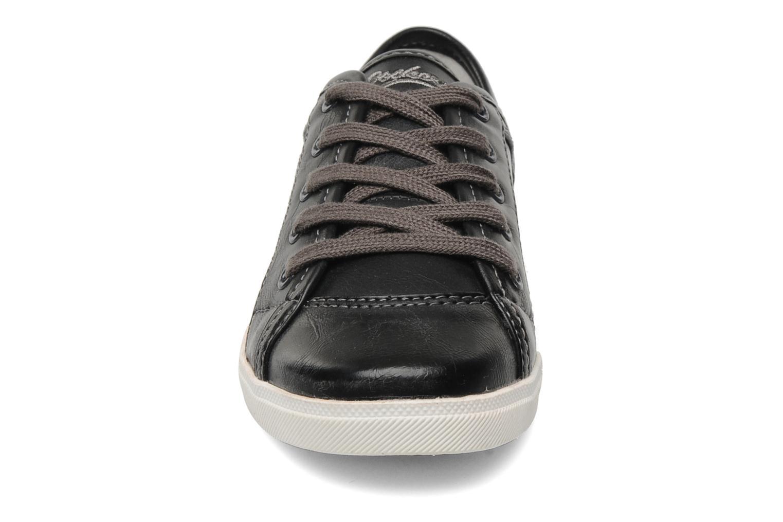Baskets Dockers Marius Noir vue portées chaussures