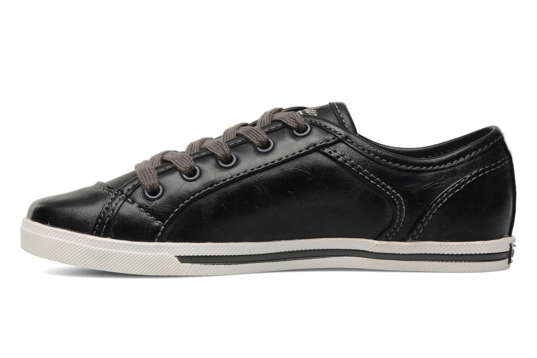Sneaker Dockers Marius schwarz ansicht von vorne
