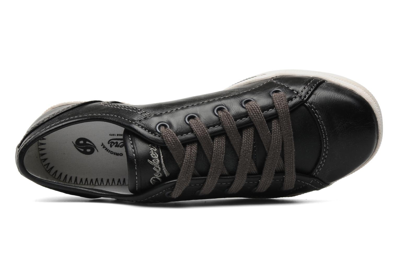Sneaker Dockers Marius schwarz ansicht von links
