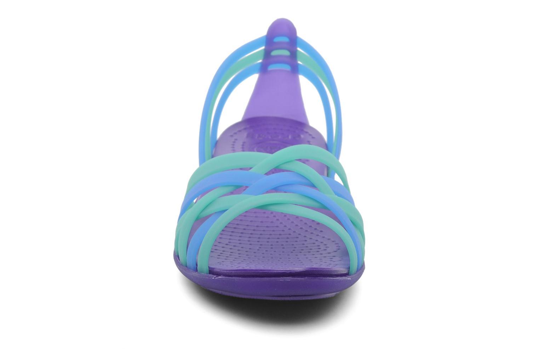 Sandales et nu-pieds Crocs Huarache Flat Women Multicolore vue portées chaussures