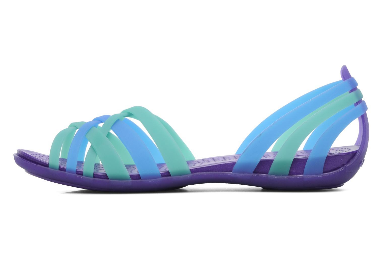Sandales et nu-pieds Crocs Huarache Flat Women Multicolore vue face