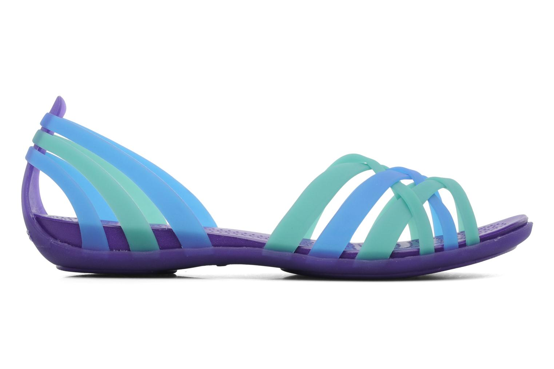 Sandales et nu-pieds Crocs Huarache Flat Women Multicolore vue derrière