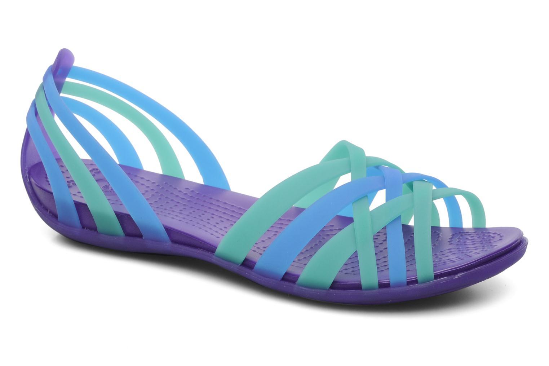 Sandales et nu-pieds Crocs Huarache Flat Women Multicolore vue détail/paire